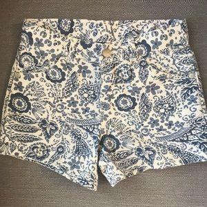 Blue & White Oshkosh Shorts